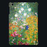 "Gustav Klimt Flower Garden iPad Mini Case<br><div class=""desc"">Gustav Klimt Flower Garden iPad Mini case. Oil painting on canvas from 1907. Completed during his golden phase, Flower Garden is one of Klimt's most famous landscape paintings. The summer colors burst forth in this work with a beautiful mix of orange, red, purple, blue, pink and white blossoms. A great...</div>"