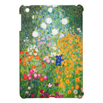 Gustav Klimt Flower Garden iPad Mini Case