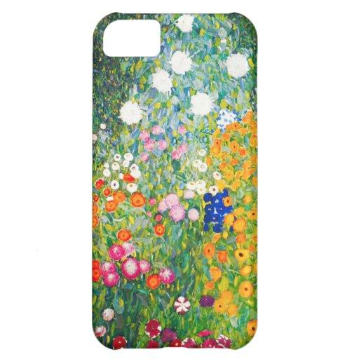 Gustav Klimt Flower Garden iPhone 5 Case