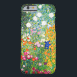 "Gustav Klimt Flower Garden iPhone 6 case<br><div class=""desc"">Gustav Klimt Flower Garden iPhone 6 case. Oil painting on canvas from 1907. Completed during his golden phase, Flower Garden is one of Klimt's most famous landscape paintings. The summer colors burst forth in this work with a beautiful mix of orange, red, purple, blue, pink and white blossoms. A great...</div>"