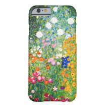 Gustav Klimt Flower Garden iPhone 6 case