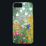 "Gustav Klimt Flower Garden iPhone 7 case<br><div class=""desc"">Gustav Klimt Flower Garden iPhone 6 case. Oil painting on canvas from 1907. Completed during his golden phase, Flower Garden is one of Klimt's most famous landscape paintings. The summer colors burst forth in this work with a beautiful mix of orange, red, purple, blue, pink and white blossoms. A great...</div>"