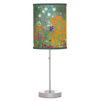 Gustav Klimt: Flower Garden Lamp