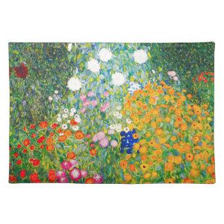 Gustav Klimt Flower Garden Placemat