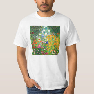 Gustav Klimt Flower Garden T-shirt