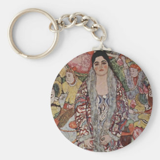 Gustav Klimt Fredericke Maria Beer Key Chain