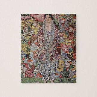 Gustav Klimt Fredericke Maria Beer Puzzle