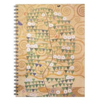Gustav Klimt Frieze Tree of Life Notebook