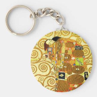 Gustav Klimt Fulfillment Key Chain