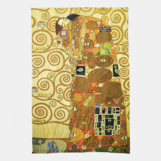 Gustav Klimt Fulfillment Kitchen Towel