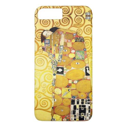 Gustav Klimt Fulfillment Lovers Fine Art Phone Case
