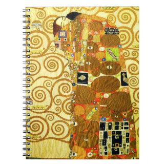 Gustav Klimt Fulfillment Notebook