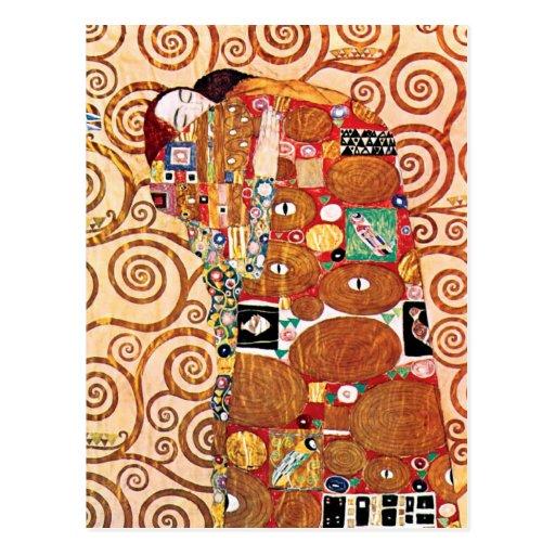 Gustav Klimt - Fulfillment Postcard