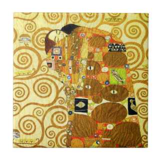 Gustav Klimt Fulfillment Tile