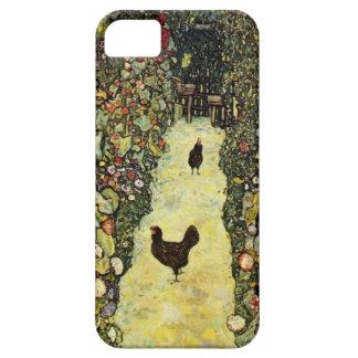 Gustav Klimt Garden path with chickens iPhone SE/5/5s Case