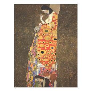 Gustav Klimt- Hope II Postcard