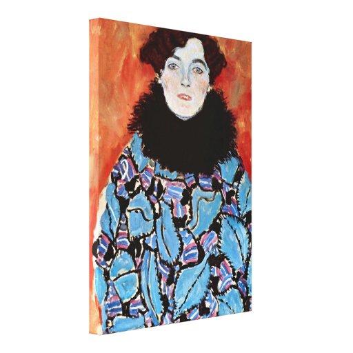 Gustav Klimt - Johanna Staude Stretched Canvas Prints