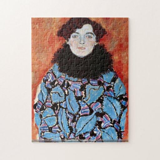 Gustav Klimt - Johanna Staude puzzle