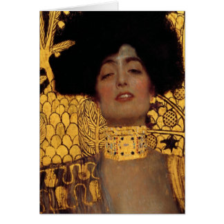 Gustav Klimt Judith And The Head Of Holofernes Stationery Note Card