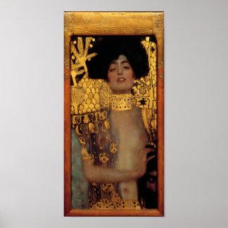 Gustav Klimt Judith And The Head Of Holofernes Poster