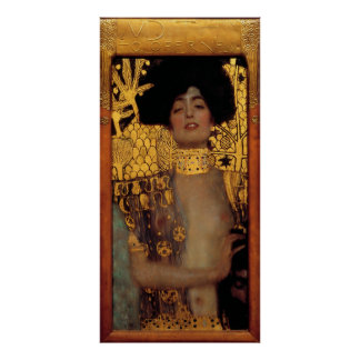 Gustav Klimt Judith And The Head Of Holofernes Poster