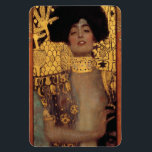 "Gustav Klimt Judith Magnet<br><div class=""desc"">Gustav Klimt Judith magnet. Oil painting on canvas from 1901. Gustav Klimt's beautiful depiction of the biblical story of Judith and Holofernes. Great for fans of Austrian symbolism,  Klimt and fine art.</div>"