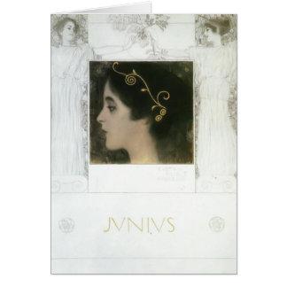 Gustav Klimt: Junius Card