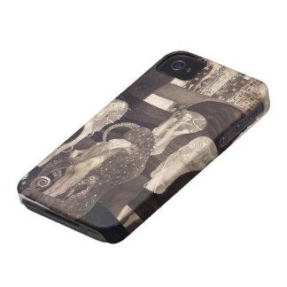 Gustav Klimt- Jurisprudence (final state) iPhone 4 Case