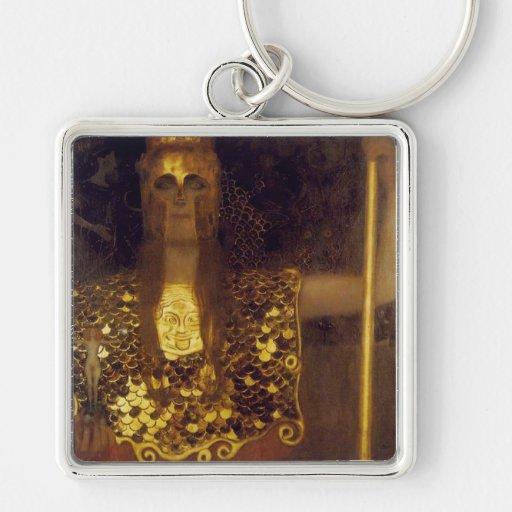 Gustav Klimt Keychain