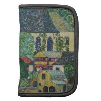 Gustav Klimt // Kirche in Unterach am Attersee Folio Planner