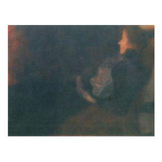 Gustav Klimt- Lady by the Fireplace Post Card