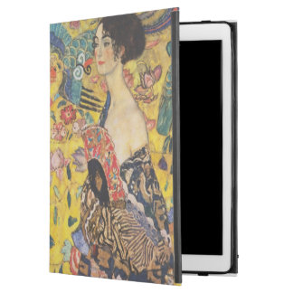"Gustav Klimt Lady With Fan Art Nouveau Painting iPad Pro 12.9"" Case"
