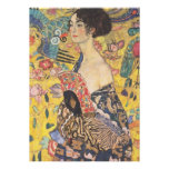 Gustav Klimt Lady With Fan Invitations