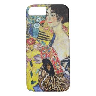 Gustav Klimt Lady with Fan iPhone 8/7 Case