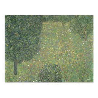 Gustav Klimt- Landscape Garden (Meadow in Flower) Post Card