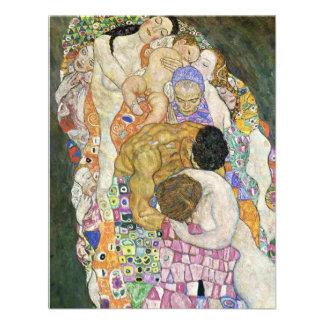 Gustav Klimt Life and Death Invitations