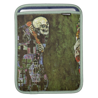 Gustav Klimt ~ Life and Death Sleeves For iPads