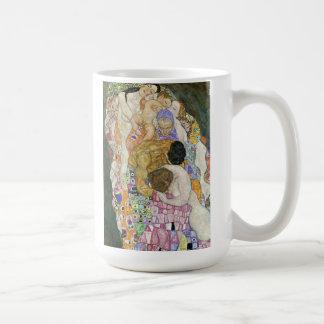 Gustav Klimt Life and Death Mug
