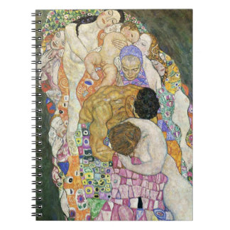 Gustav Klimt Life and Death Notebook