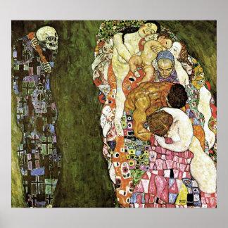 Gustav Klimt ~ Life and Death Poster