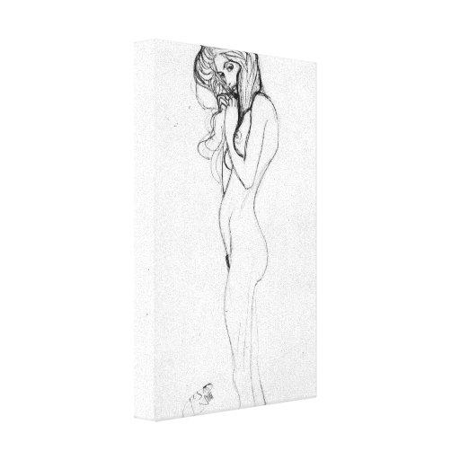 Gustav Klimt - Madalane Gallery Wrapped Canvas