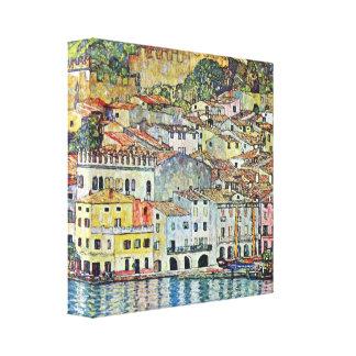 Gustav Klimt - Malcena at the Gardasee Gallery Wrap Canvas
