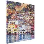 Gustav Klimt - Malcesine at Lake Garda Italy Canvas Print