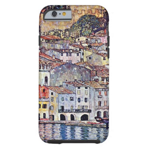 Gustav Klimt - Malcesine at Lake Garda Italy Phone Case