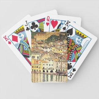Gustav Klimt- Malcesine on Lake Garda Card Decks