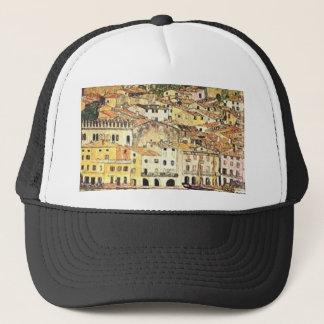 Gustav Klimt - Malcesine on Lake Garda Trucker Hat