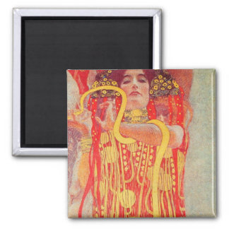 Gustav Klimt - Medizin Refrigerator Magnet