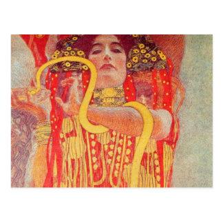 Gustav Klimt - Medizin Postcard