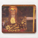 Gustav Klimt Minerva Pallas Athena Mouse Pad