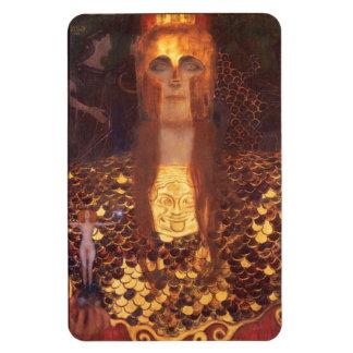 Gustav Klimt Minerva Pallas Athena Rectangular Photo Magnet
